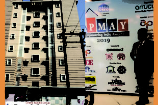 Best PMAY 2019 Award in Assam for Royal Aawas Tezpur