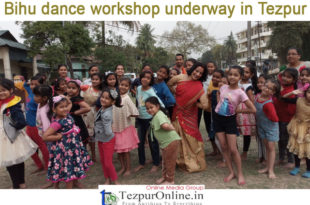 Bihu dance workshop underway in Tezpur