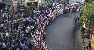 Massive protest rally at Tezpur against citizenship amendment act 2019